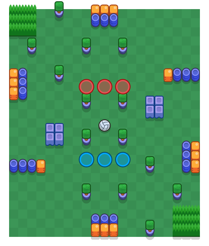 Strong Side is a Volley Brawl map in Brawl Stars.