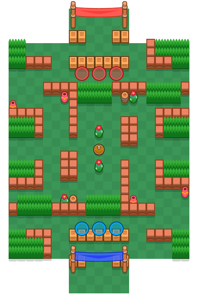 Substitute is a Brawl Ball Brawl Stars map. Check out Substitute's map picture for Brawl Ball and the best and recommended brawlers in Brawl Stars.