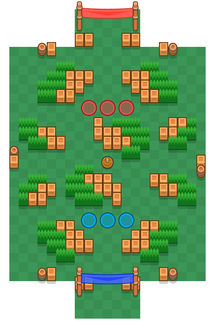 Sunny Soccer is a Brawl Ball map in Brawl Stars.