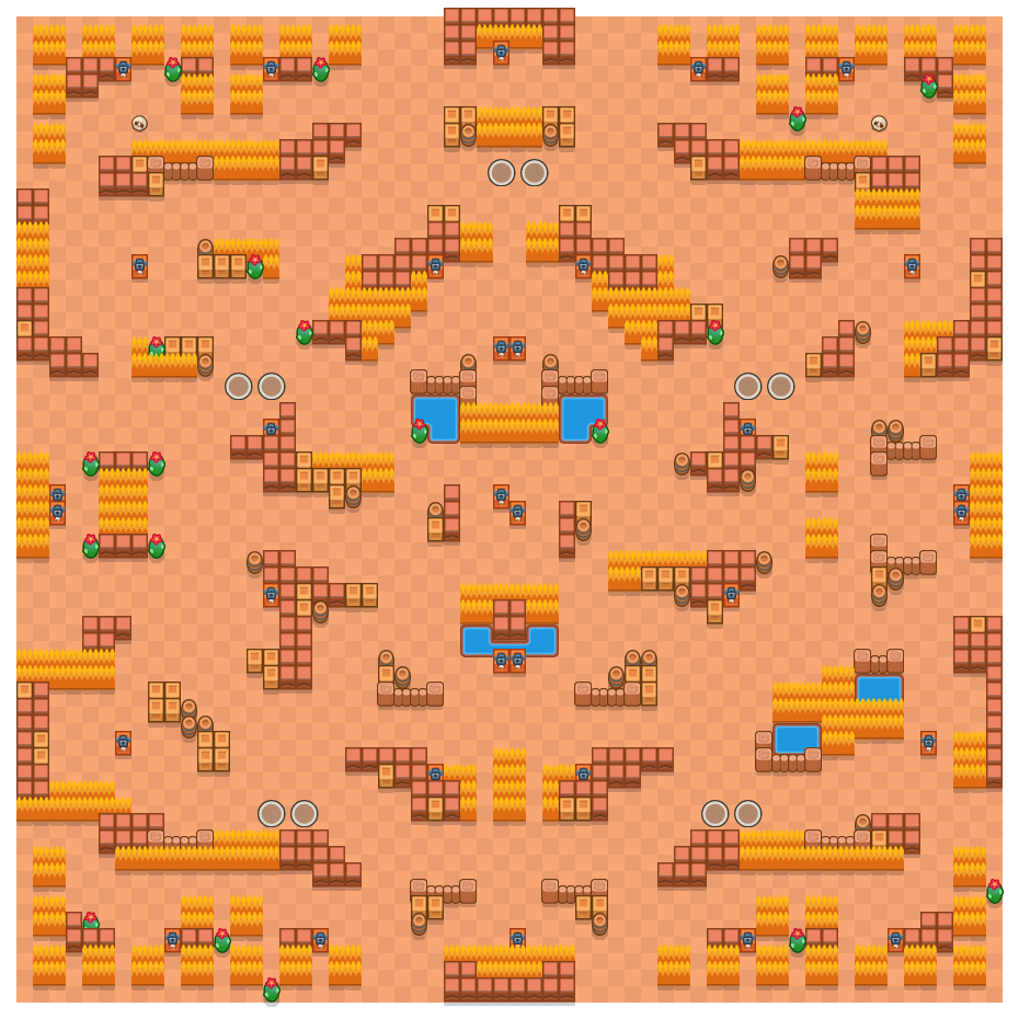 Superstar is a Duo Showdown Brawl Stars map. Check out Superstar's map picture for Duo Showdown and the best and recommended brawlers in Brawl Stars.