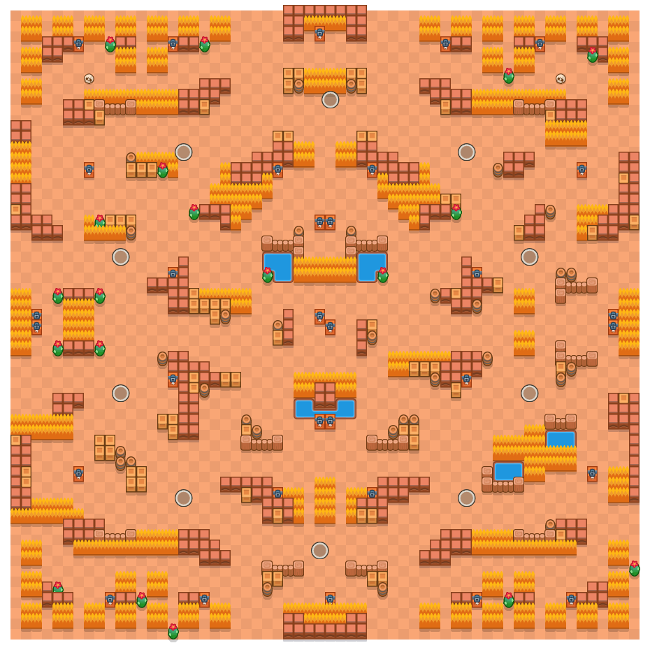 Superstar is a Solo Showdown Brawl Stars map. Check out Superstar's map picture for Solo Showdown and the best and recommended brawlers in Brawl Stars.