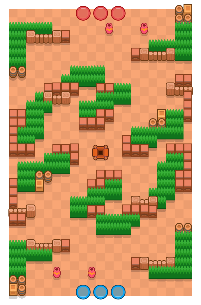 Wervelende storm is a Edelstenengraai Brawl Stars map. Check out Wervelende storm's map picture for Edelstenengraai and the best and recommended brawlers in Brawl Stars.
