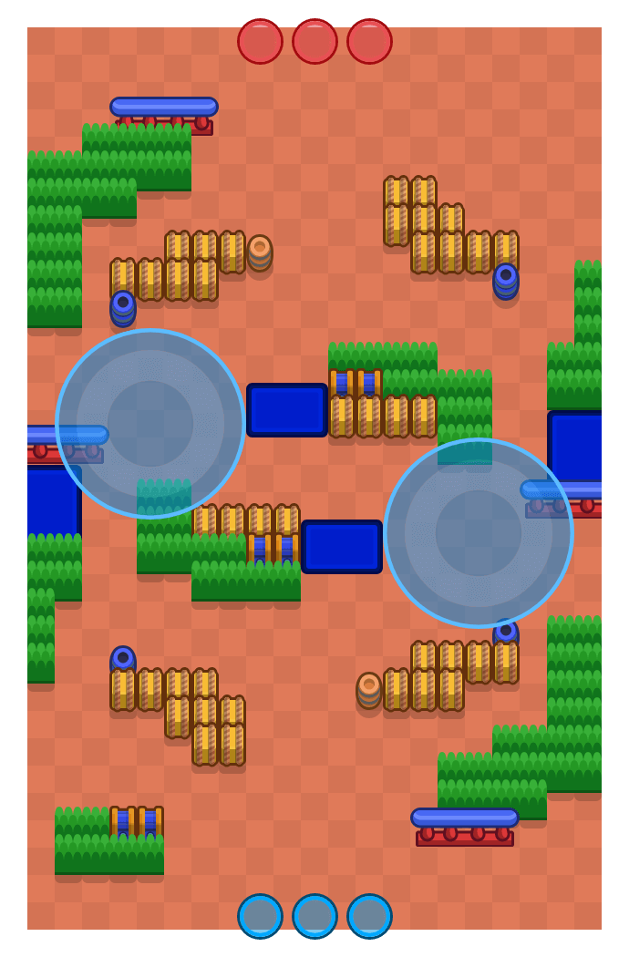 Temple of Boom is a Hot Zone Brawl Stars map. Check out Temple of Boom's map picture for Hot Zone and the best and recommended brawlers in Brawl Stars.