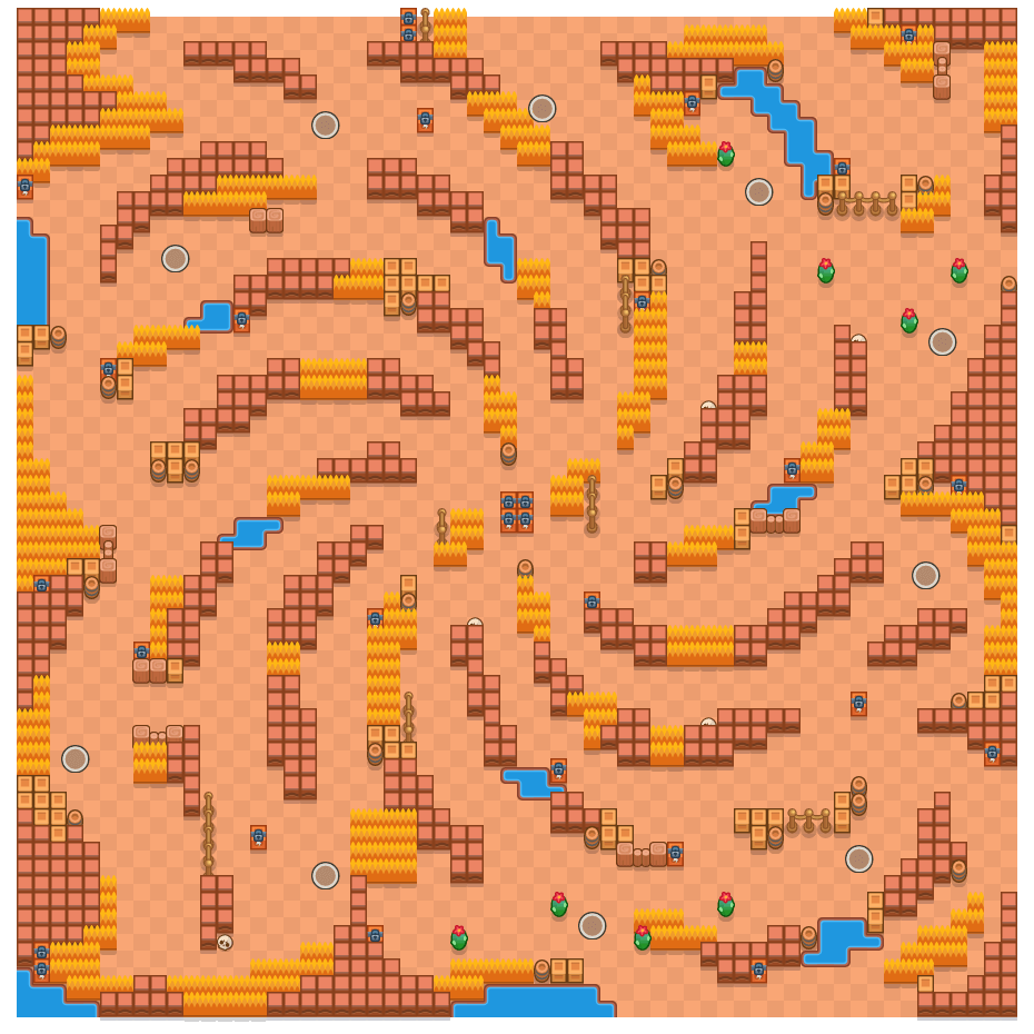 Het heelal is a Solo-Showdown Brawl Stars map. Check out Het heelal's map picture for Solo-Showdown and the best and recommended brawlers in Brawl Stars.