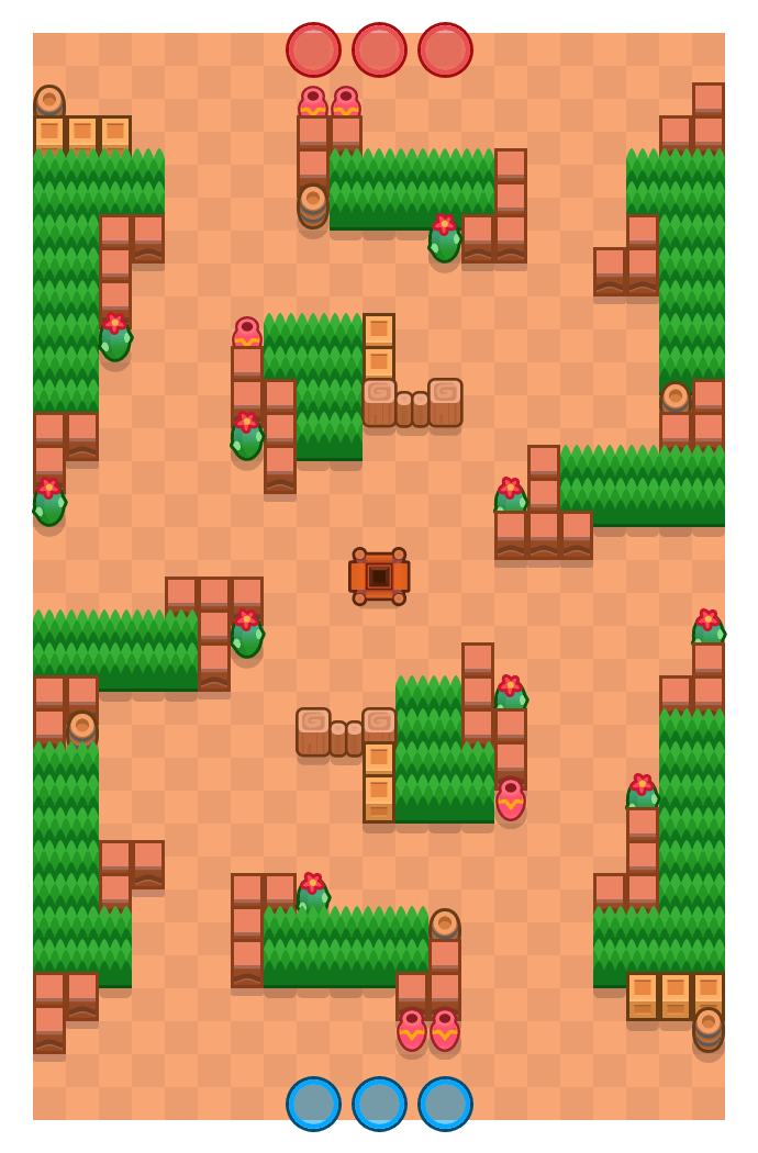 Time Out is a Gem Grab Brawl Stars map. Check out Time Out's map picture for Gem Grab and the best and recommended brawlers in Brawl Stars.