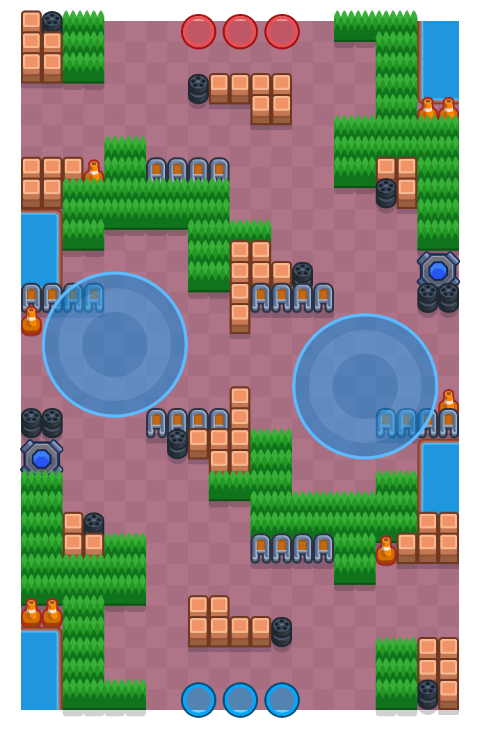 Time Warp is a Hot Zone map in Brawl Stars.