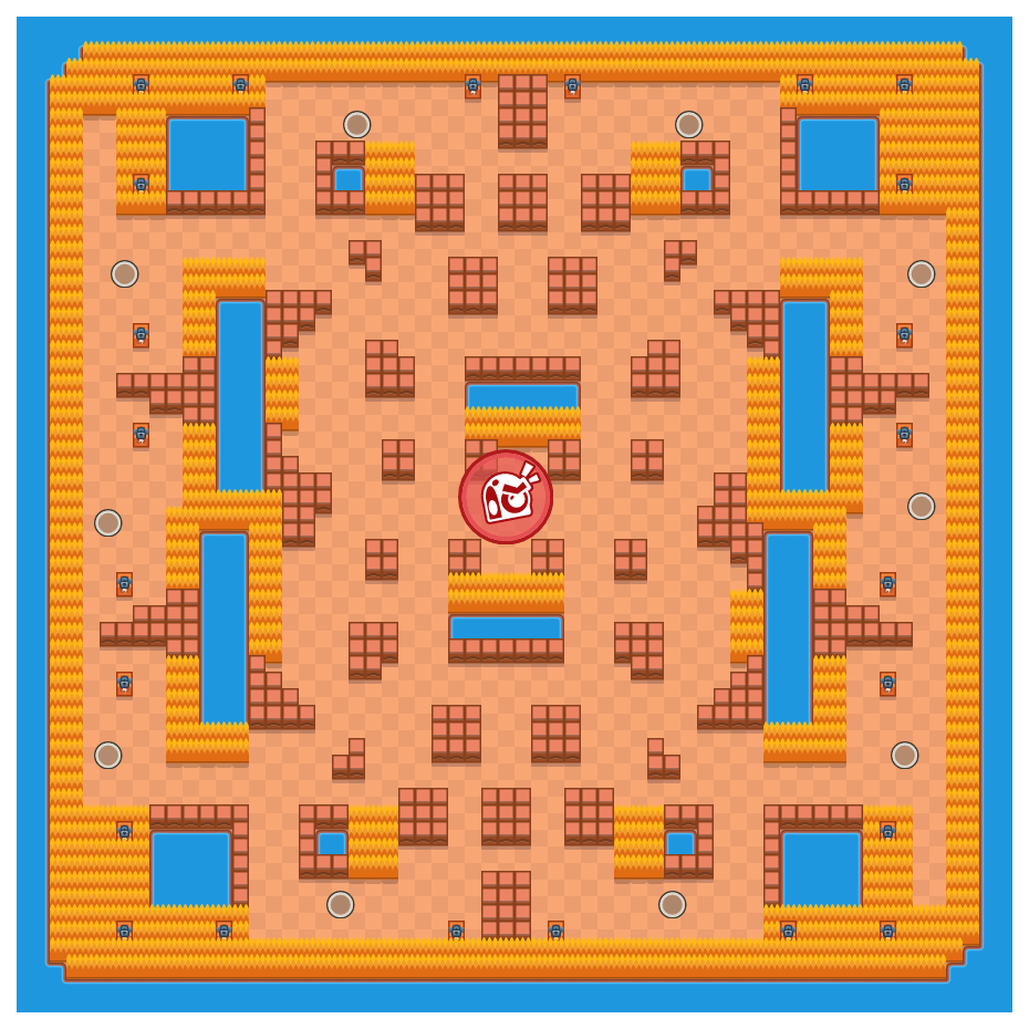 Training Montage is a Takedown Brawl Stars map. Check out Training Montage's map picture for Takedown and the best and recommended brawlers in Brawl Stars.