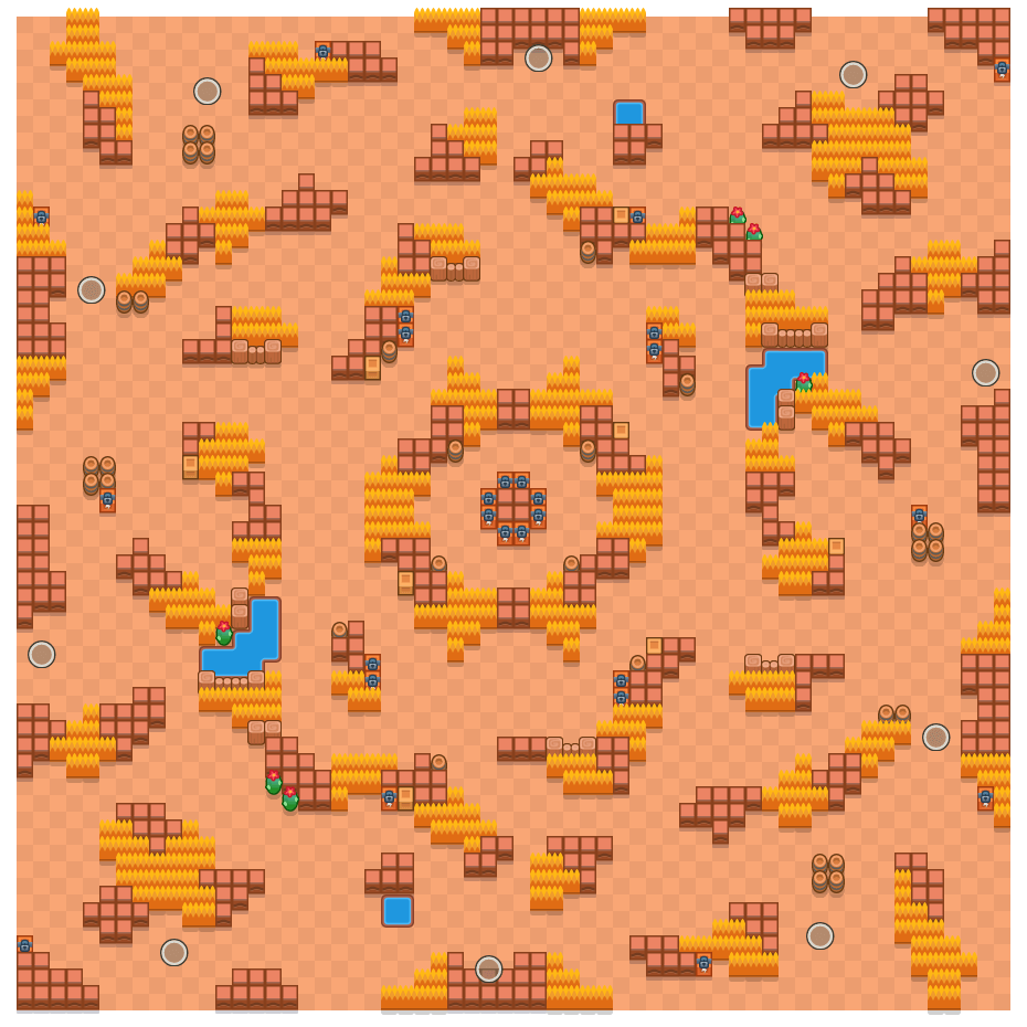 Schattenjacht is a Solo-Showdown Brawl Stars map. Check out Schattenjacht's map picture for Solo-Showdown and the best and recommended brawlers in Brawl Stars.