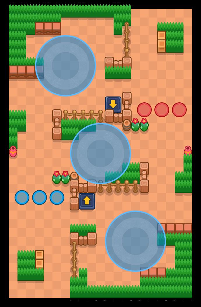 Triumvirate is a Hot Zone map in Brawl Stars.
