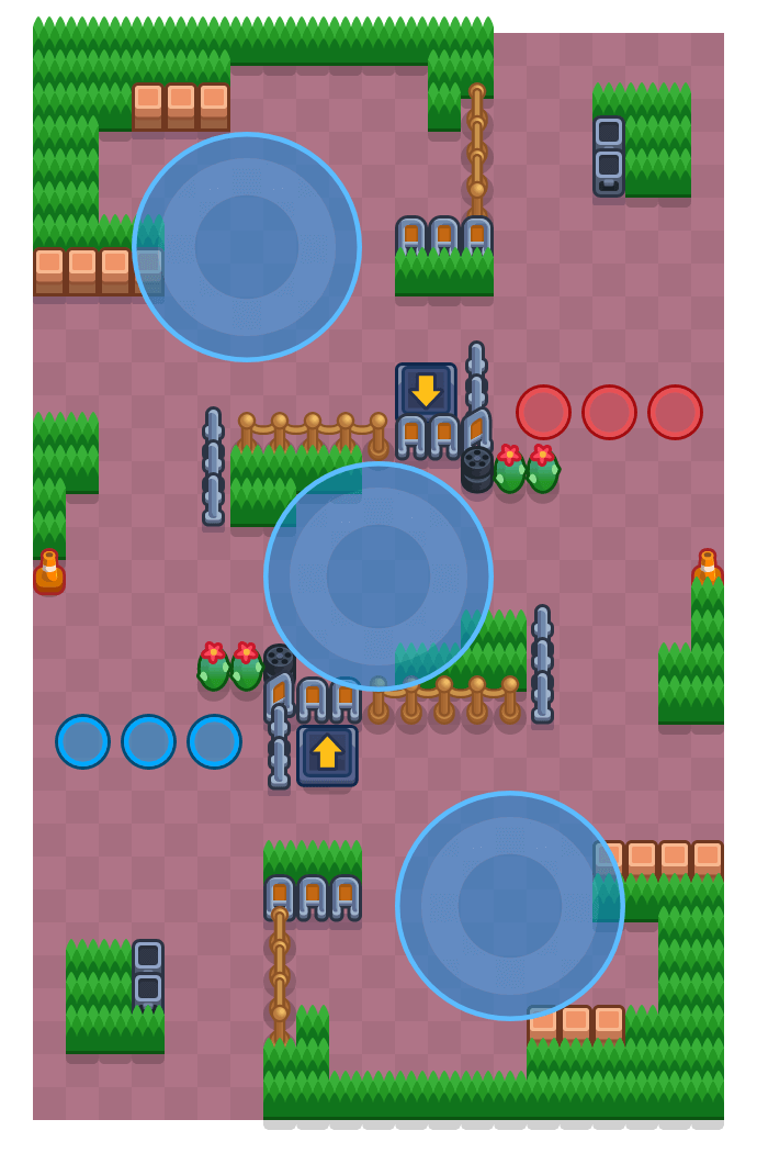 Triumvirate is a Hot Zone Brawl Stars map. Check out Triumvirate's map picture for Hot Zone and the best and recommended brawlers in Brawl Stars.