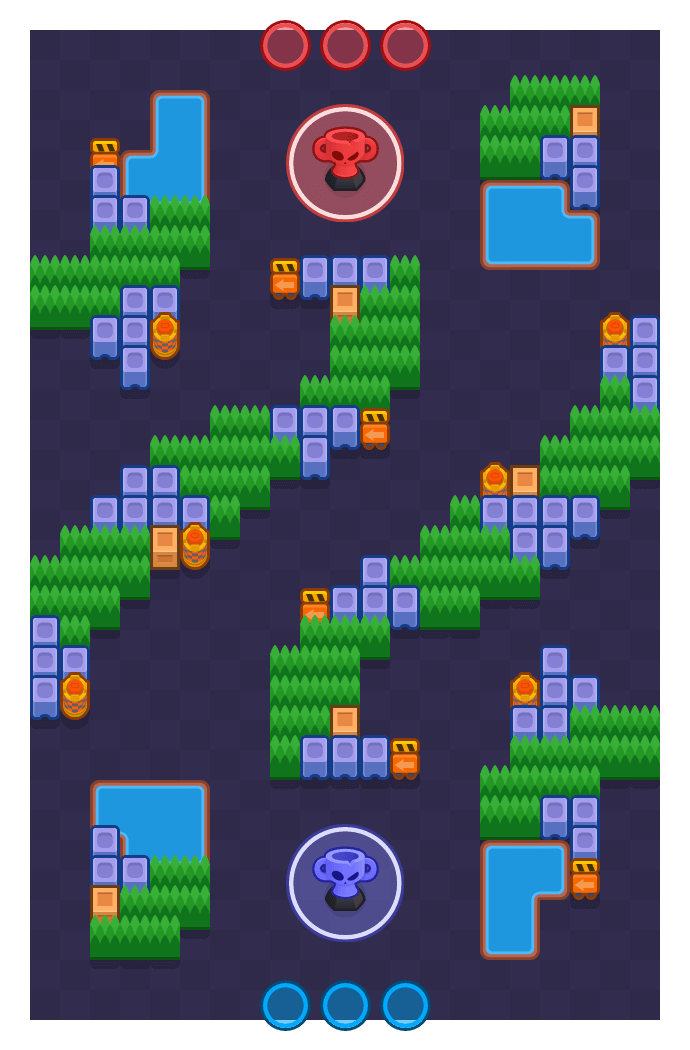Twisted Plan is a Trophy Thieves map in Brawl Stars.