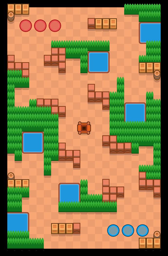 Twisted Torpedo is a Gem Grab map in Brawl Stars.