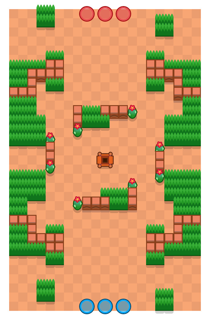 Undermine is a Gem Grab Brawl Stars map. Check out Undermine's map picture for Gem Grab and the best and recommended brawlers in Brawl Stars.