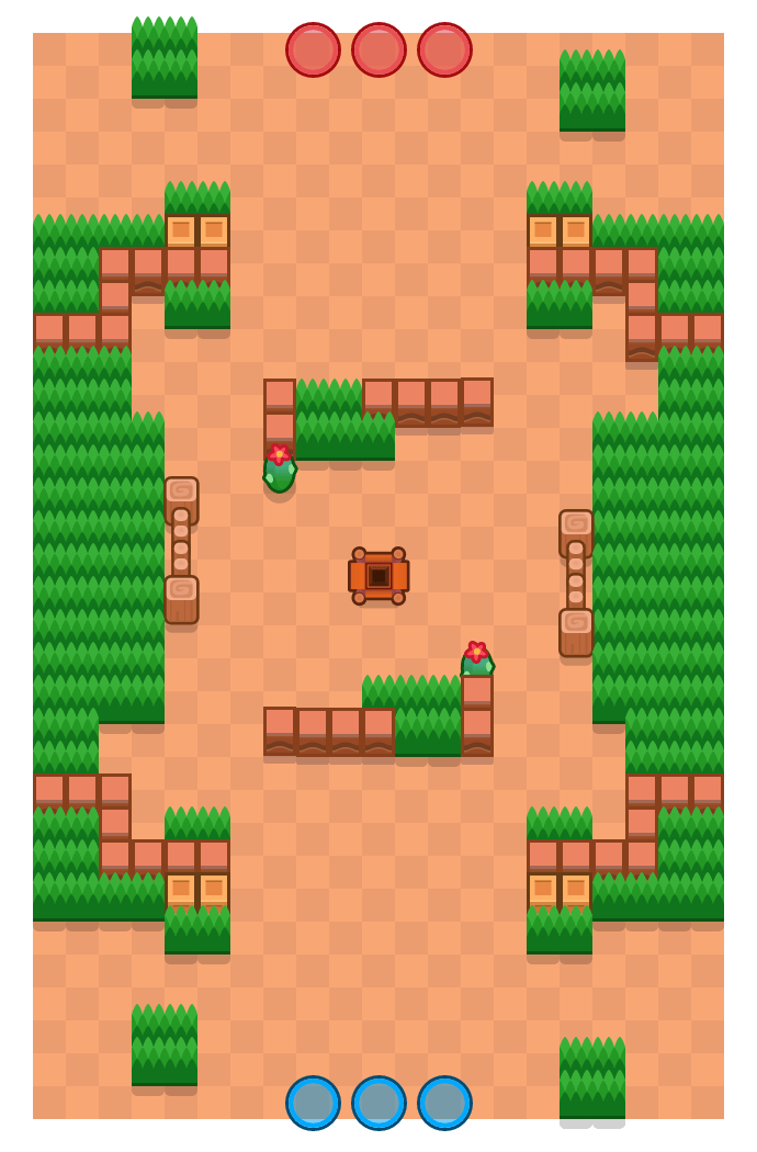 Undermine is a Gem Grab map in Brawl Stars.