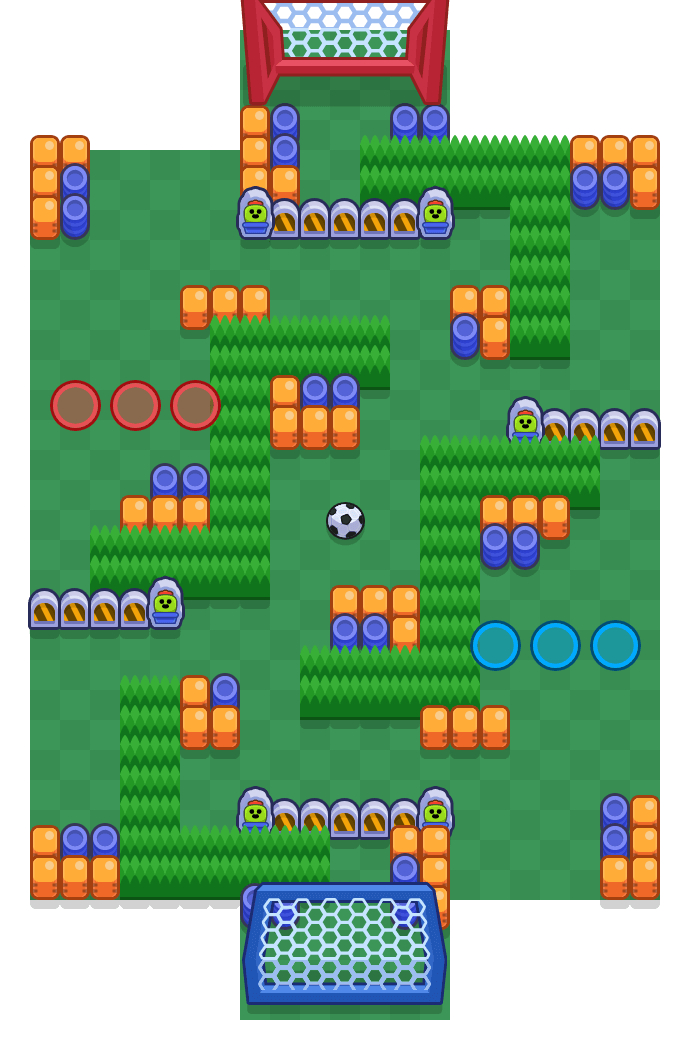 Brandungswelle is a Brawlball Brawl Stars map. Check out Brandungswelle's map picture for Brawlball and the best and recommended brawlers in Brawl Stars.