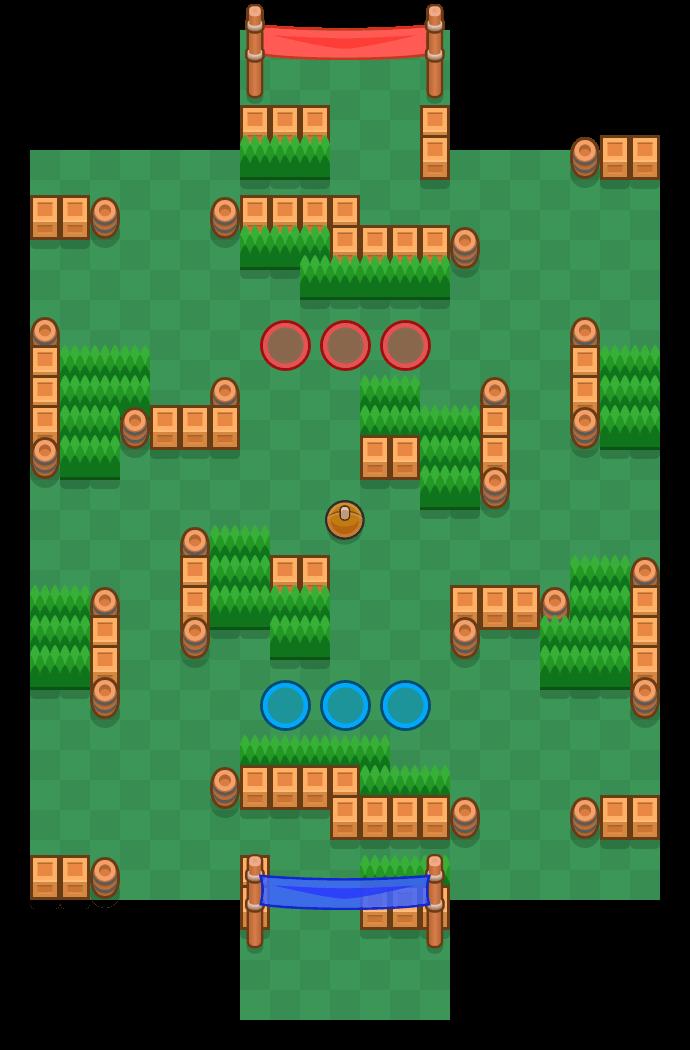 带球过人 is a 乱斗足球 map in Brawl Stars.