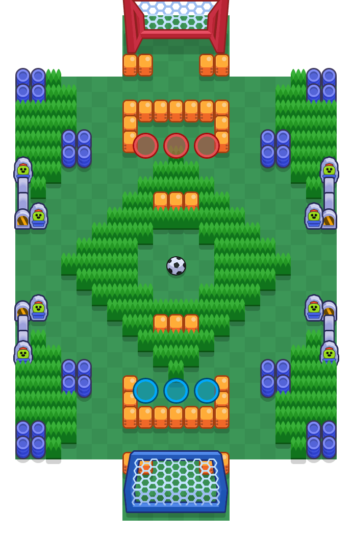Winterparty is a Brawlball Brawl Stars map. Check out Winterparty's map picture for Brawlball and the best and recommended brawlers in Brawl Stars.