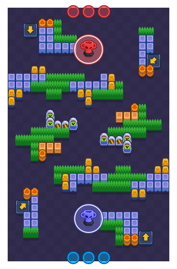 Zip Line is a Trophy Thieves map in Brawl Stars.