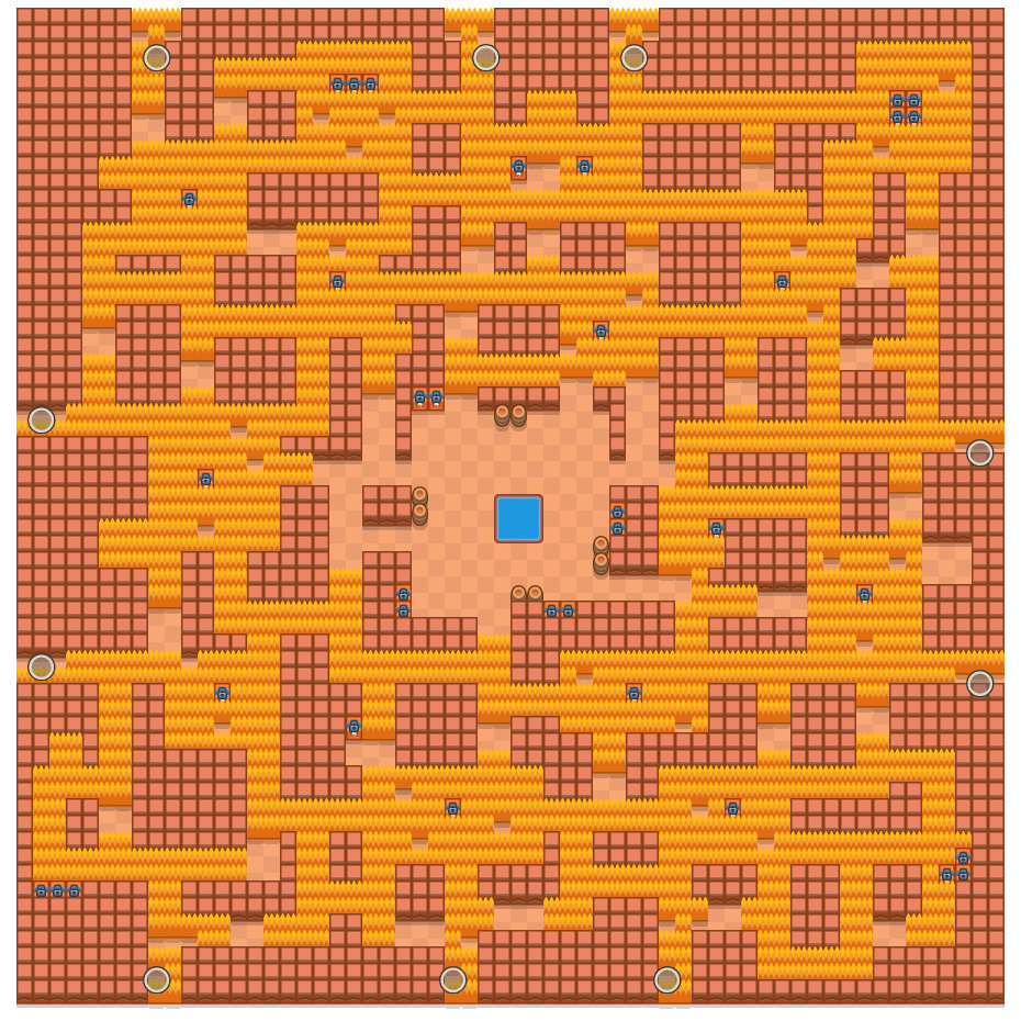 nruhC nrevaC is a Solo Showdown Brawl Stars map. Check out nruhC nrevaC's map picture for Solo Showdown and the best and recommended brawlers in Brawl Stars.