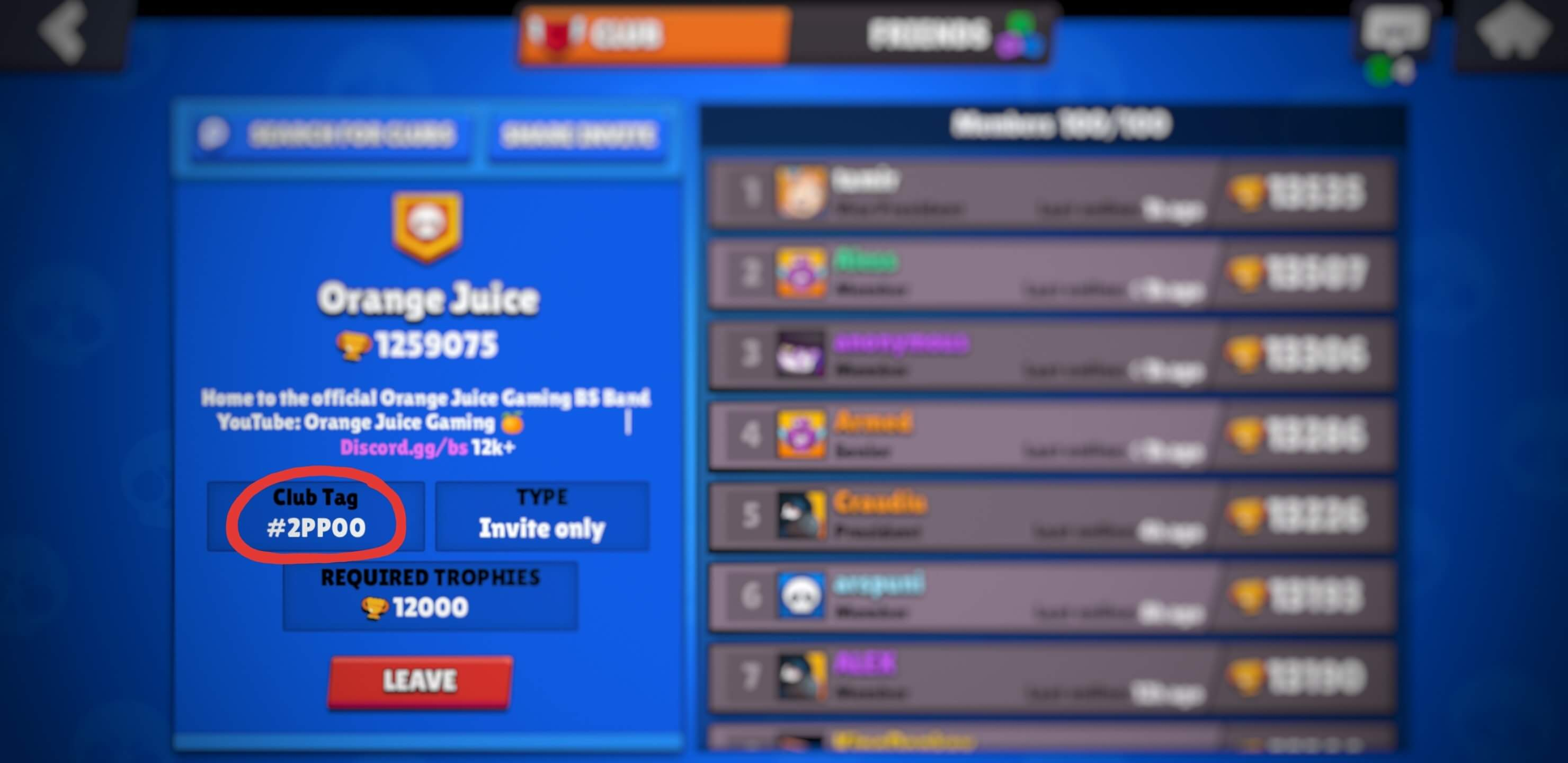 Find your Brawl Stars club tag here.