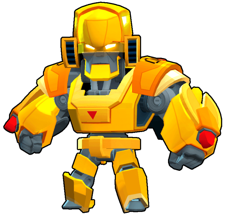 Gold Mecha Bo